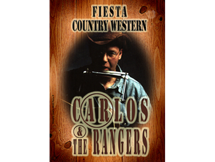 Cartel Música Country. Carlos & The Rangers. Reus.