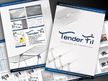 Catálogo Productos. Tender Fil, S.L. Alforja. Tarragona.